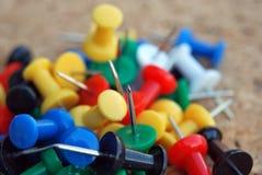Plastikstifte Lizenzfreie Stockfotos