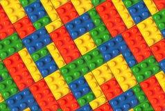 Plastikteil Spiel der Kinder Lizenzfreie Stockbilder