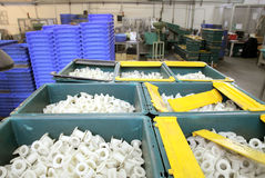 Plastikteile lizenzfreies stockbild