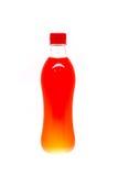 Plastiktrinkwasserflaschen, Stockbild
