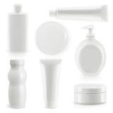 Plastikverpackung, Kosmetik und Hygiene lizenzfreie abbildung