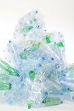Plastikwasserflaschenabfall Stockbild