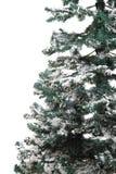 Plastikweihnachtsbaum lokalisiert Stockbild