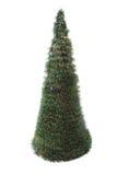 Plastikweihnachtsbaum lokalisiert Lizenzfreie Stockfotografie