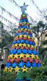 Plastikweihnachtsbaum Palawan Insel Lizenzfreie Stockbilder