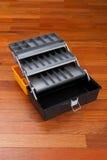 Plastikwerkzeugkasten Lizenzfreie Stockbilder