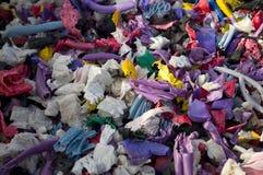 Plastikwiederverwertung Stockfoto