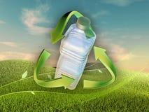 Plastikwiederverwertung Stockbild