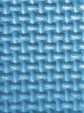 Plastikzahlen in blauem 3d mit Beschaffenheit Stockfotos