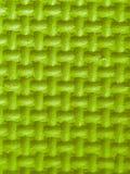 Plastikzahlen in grünem 3d mit Beschaffenheit Stockbilder