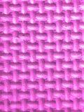 Plastikzahlen in rosa 3d mit Beschaffenheit Lizenzfreies Stockfoto