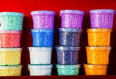 Plastilina colorido Imagens de Stock