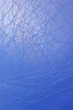 Plastique bleu Photos libres de droits