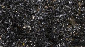 Plastique brûlé Images stock
