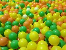 plastique coloré Photographie stock