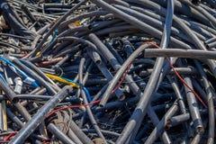 Plastique dépouillé par chute 3045 Images libres de droits