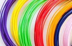 Plastique d'ADS pour l'imprimante 3D, Photo libre de droits