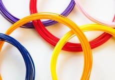 Plastique d'ADS pour l'imprimante 3D, Images libres de droits