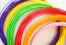 Plastique d'ADS pour l'imprimante 3D, Images stock