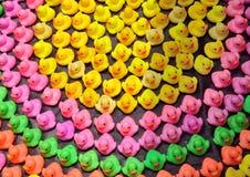 Plastique de canard Photographie stock libre de droits