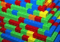 Plastique de concepteur de couleur Photo libre de droits