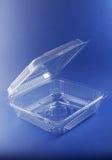 plastique de conteneur Images stock
