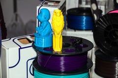 Plastique de fil d'ABS pour l'imprimante 3d Photos libres de droits