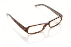 plastique de lunettes bordé Images stock