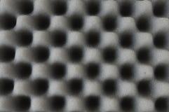 Plastique de mousse acoustique images libres de droits