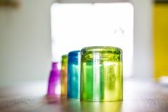Plastique de quatre solides image stock