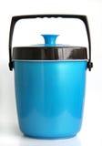 Plastique de refroidisseur de glace Photographie stock