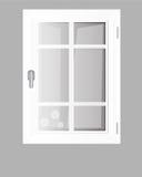 Plastique de Windows Images libres de droits