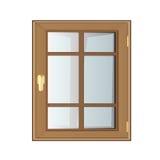 Plastique de Windows Photo libre de droits