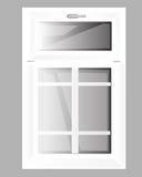 Plastique de Windows Photographie stock libre de droits