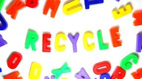Plastique réutilisé Photo stock