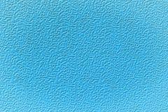 Plastique texturisé bleu. Photo stock