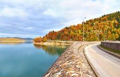 Plastira lake Karditsa Greece Royalty Free Stock Photos