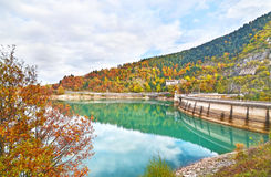 Plastira lake Karditsa Greece Stock Photos