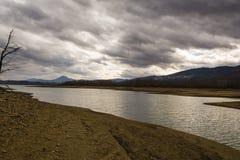 Plastiras lake in central Greece Stock Photo