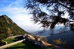 Platå av alpint Royaltyfri Foto
