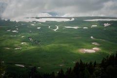 Platå Lago Naki fotografering för bildbyråer
