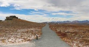Platô das montanhas rochosas Imagem de Stock Royalty Free