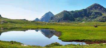 Platô de Anayet, Pyrenees espanhóis, Espanha imagens de stock