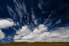 Platô de Qinghai - de Tibet fotos de stock