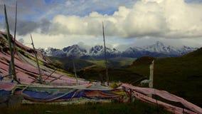 Platô de Tibetian, Serkyi Gyelgo, Tagong imagens de stock royalty free