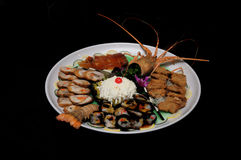 Plat assorti par homard Image stock