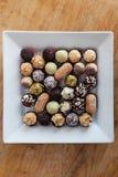 Plat avec des sucreries Photos libres de droits