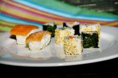 Plat avec des sushi Photos stock