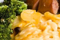 Plat cuisiné par maison Image stock