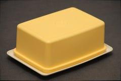 Plat de beurre Image stock